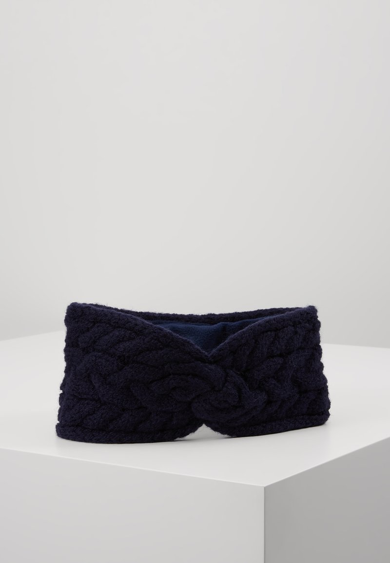 Lauren Ralph Lauren - BLEND CABLE HEADBAND - Ørevarmere - navy