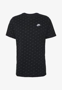 Nike Sportswear - TEE MINI - T-shirt med print - black/grey - 3