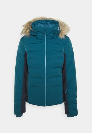 STORM COZY JACKET - Ski jas - mallard blue/ebony