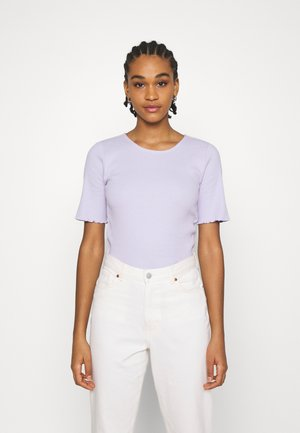 VIBALA - Basic T-shirt - purple heather