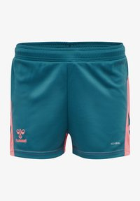 Hummel - ACTION - Sports shorts - blue coral/tea rose - 0