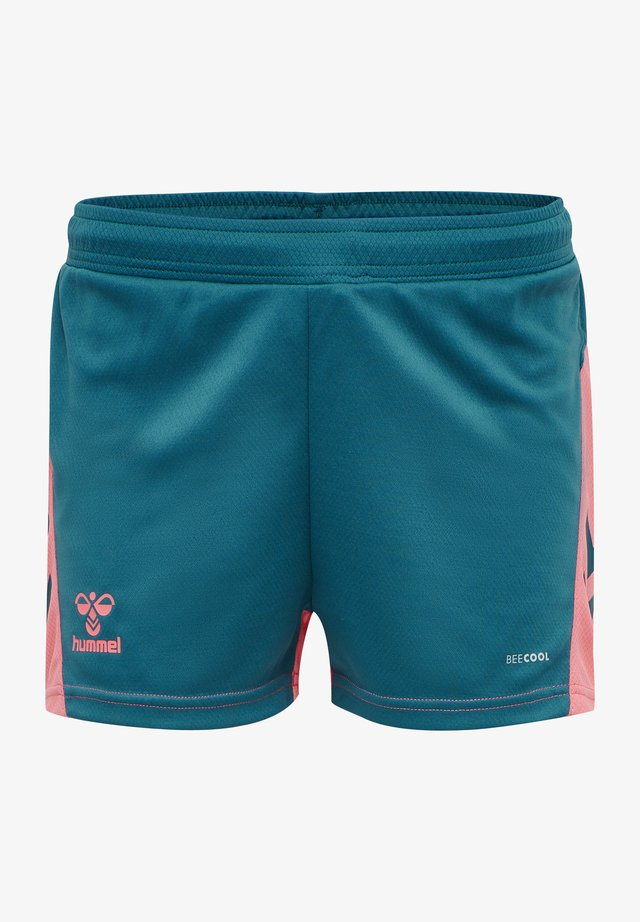 ACTION - Sports shorts - blue coral/tea rose