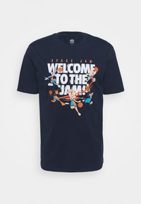 Outerstuff - SPACE JAM 2 WELCOME TO THE JAM TEE - Print T-shirt - navy - 4