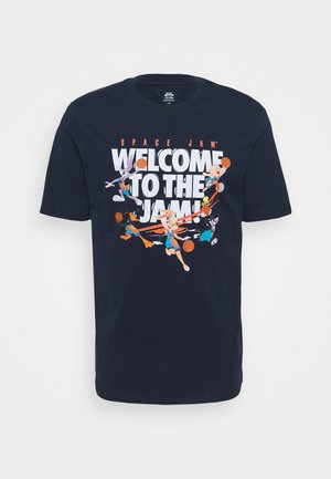 SPACE JAM 2 WELCOME TO THE JAM TEE - T-shirt con stampa - navy