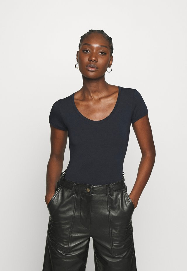 TRICK - T-shirt - bas - navy noir