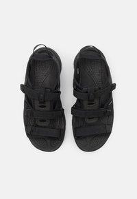 Keen - ASTORIA WEST OPEN TOE - Walking sandals - black - 7