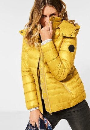 STEPPJACKE - Light jacket - gelb