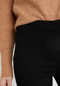 Dorothy Perkins Tall - MOCK FLY BENG - Pantalon classique - black - 4