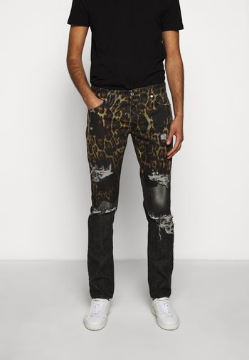 PANTS POCKETS LEOPARD PRINT