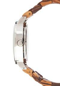 LAIMER - LAIMER AUTOMATIK HOLZUHR - ANALOGE ARMBANDUHR ROBERTO - Watch - ocher - 2