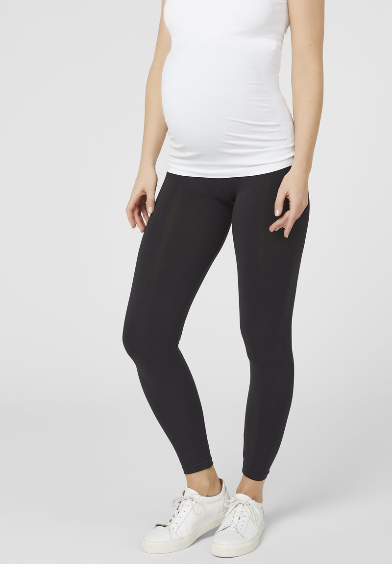 MAMALICIOUS - MLTIA JEANNE - Leggings - Trousers - black