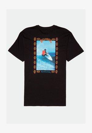 PAST LOVE - Print T-shirt - black