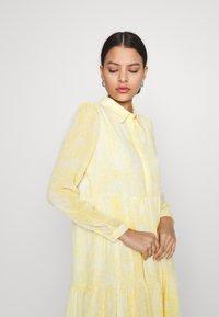Vila - VIPLISSEA SHIRT DRESS - Shirt dress - spicy mustard - 3