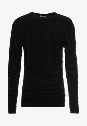 SHHNEWDEAN CREW NECK - Strikpullover /Striktrøjer - black