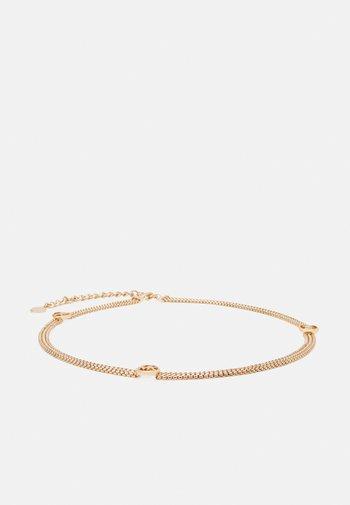 TRIPLE LINK CHAIN BELT - Waist belt - gold-coloured
