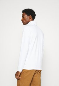 Solid - TED ROLLNECK - Long sleeved top - white - 2