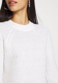 Even&Odd - Strikket kjole - white - 5