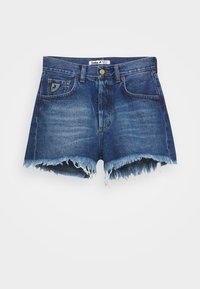 SANTA - Denim shorts - stone