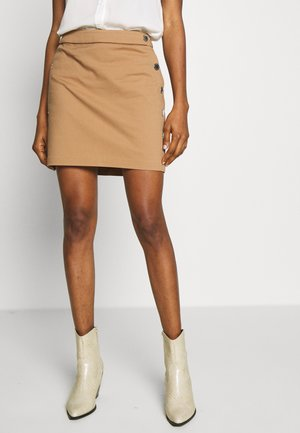 JILOLA - Mini skirt - caramel