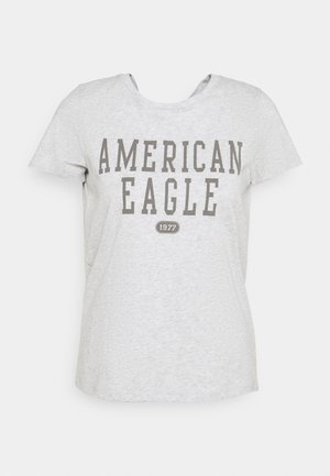 BRANDED CLASSIC TEES - Print T-shirt - heather gray