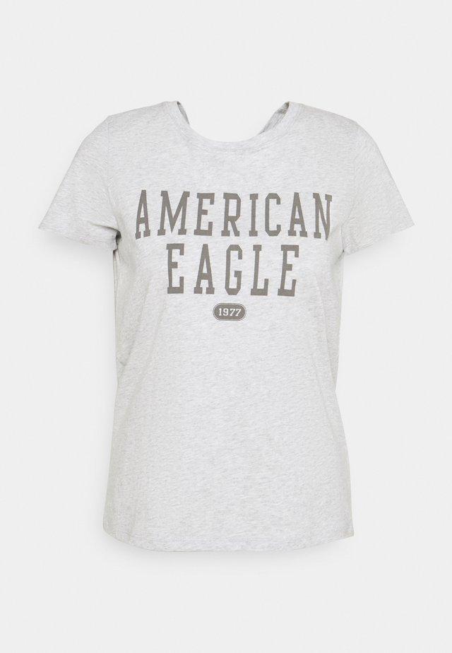 BRANDED CLASSIC TEES - T-shirt imprimé - heather gray