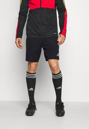 TIRO - Korte sportsbukser - black