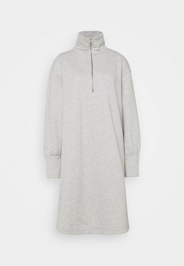 SLFMAGDALENA DRESS EX - Day dress - light grey