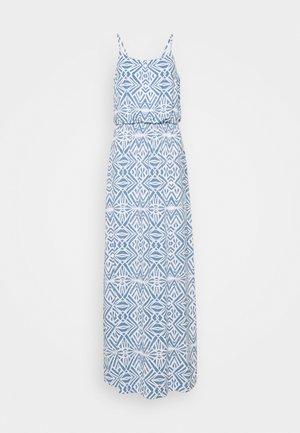 ONLNOVA LIFE STRAP DRESS  - Maxi dress - cloud dancer/denim