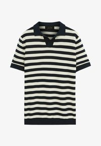 Massimo Dutti - Polo shirt - blue black denim - 2