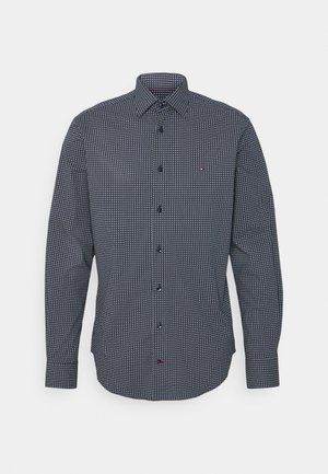 GEO DOT - Formal shirt - navy/light blue