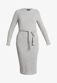 New Look - Jumper dress - mid grey - 5