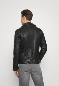 Freaky Nation - BE READY - Leather jacket - black - 3