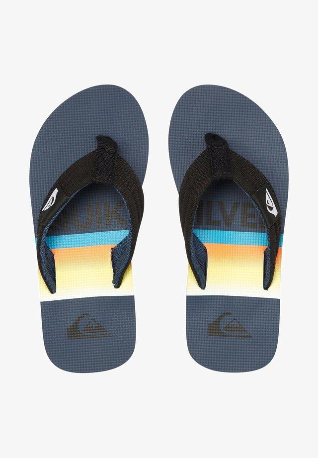 MOLOKAI LAYBACK  - T-bar sandals - black
