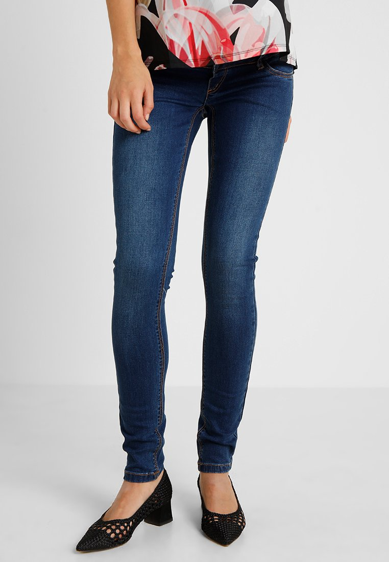 MAMALICIOUS - Slim fit jeans - blue denim