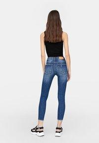 Stradivarius - Jeans Skinny Fit - dark blue - 1