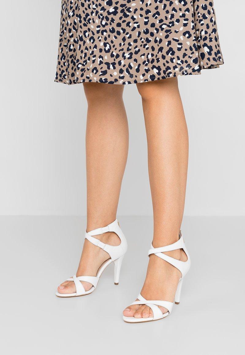 KIOMI - High heeled sandals - white