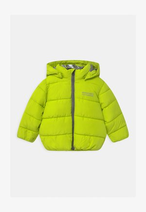 NMMMILTON PUFFER - Winter jacket - acid lime