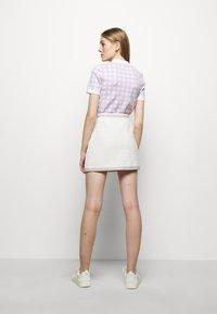 maje - JANESSA - Mini skirt - ecru - 2