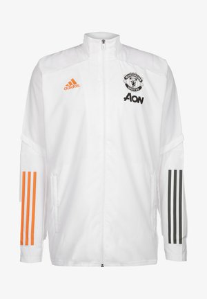 MANCHESTER UNITED FOOTBALL TRACKSUIT JACKET - Equipación de clubes - white