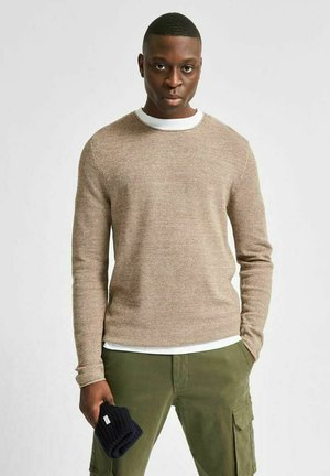 SLHROCKY  - Pullover - brown