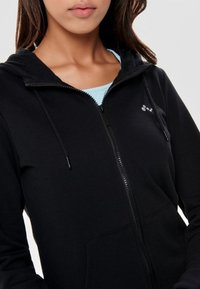 ONLY Play - ONPELINA ZIP HOOD - Zip-up hoodie - black - 3