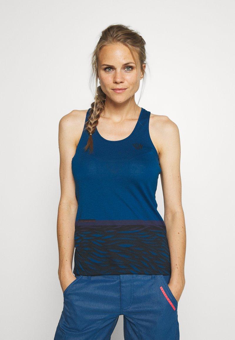 ION - TANK SEEK - Sports shirt - ocean blue