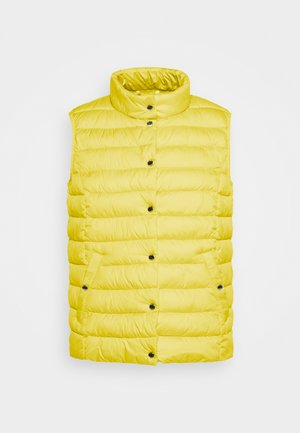 Waistcoat - lime yellow