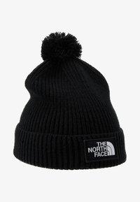 The North Face - LOGO BOX POM BEANIE UNISEX - Beanie - black - 4