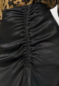 Second Female - MIDI SKIRT - Áčková sukně - black - 4