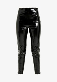 Missguided Tall - ZIP DETAIL TROUSERS - Stoffhose - black - 3