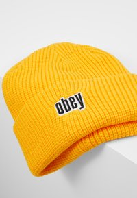 Obey Clothing - JUNGLE BEANIE - Lue - golden palm - 5