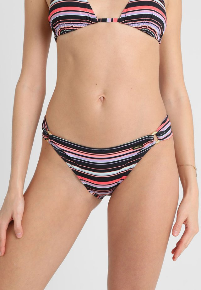 PANTS RING - Bikini bottoms - black