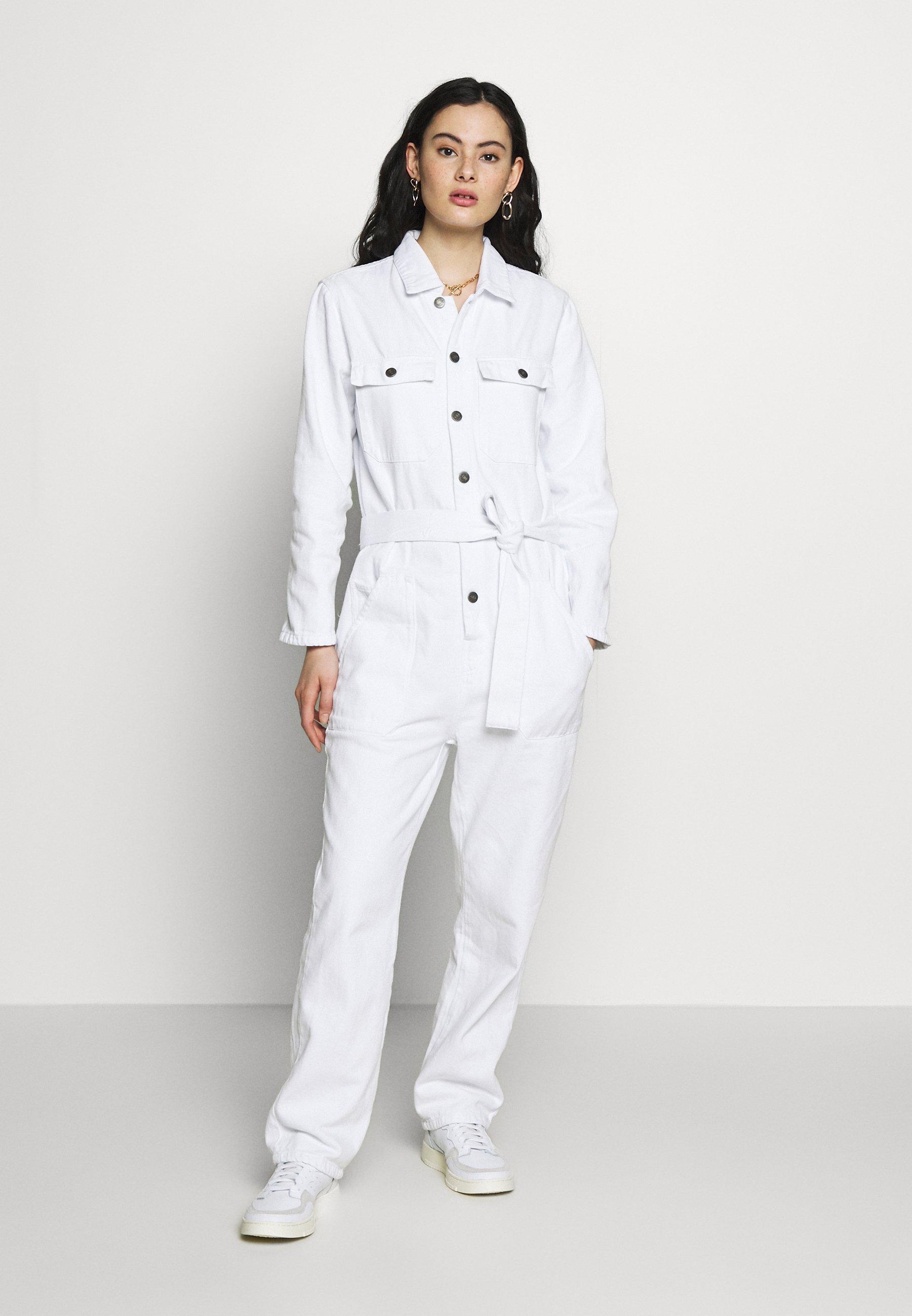 Dificil calcular palanca  American Vintage TINEBOROW - Jumpsuit - blanc/white - Zalando.co.uk