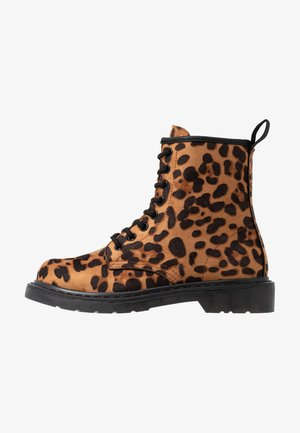 Snørestøvletter - leopard
